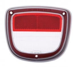 Trim Parts 73-77 Chevelle Wagon Left Hand Back Up Light Lens, Each A4875A