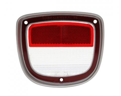 Trim Parts 73-77 Chevelle Wagon Passenger Side Back Up Light Lens, Each A4875