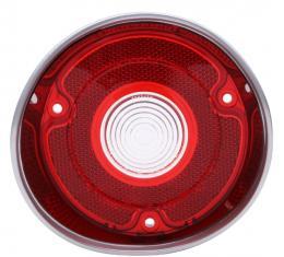 Trim Parts 71 Chevelle Passenger Side Back Up Light Lens without Trim, Each A4421