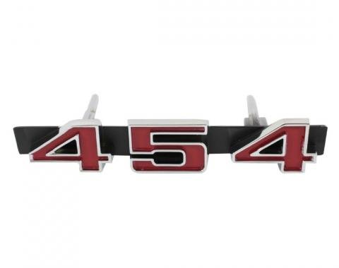 Trim Parts 71-72 GMC Sprint Grille Emblem, 454, Each 9811