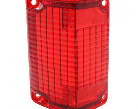 Trim Parts 68-69 Chevelle Driver Tail Light Lens, Each A4865A