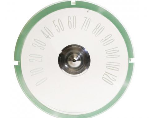 Trim Parts 59-60 Full-Size Chevrolet Speedometer Face, Each 2062