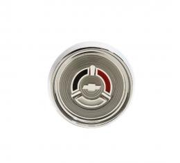 Trim Parts 64 Chevelle, Corvair, El Camino, and Full-Size Horn Wood Wheel Button Assembly, Each 4000