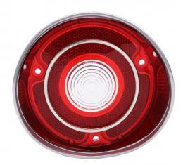 "Trim Parts 71 Malibu & ""SS"" Driver Side Back Up Light Lens with Trim, Each A4422"