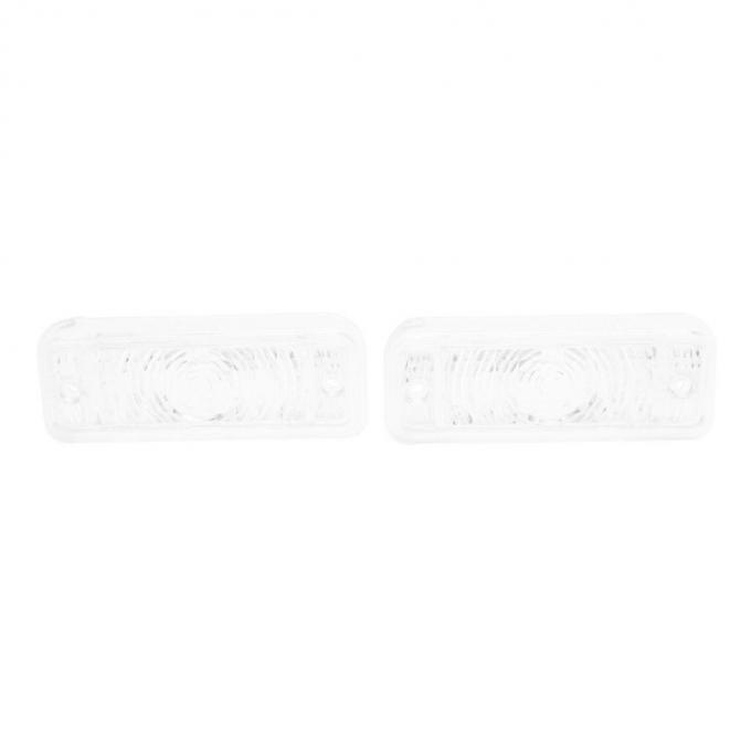 Trim Parts 69 Chevelle Parking Light Lens, Pair A4252