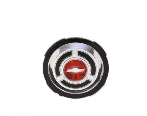 Trim Parts 65 Chevelle Standard Wheel Cover Emblem, Each 4219