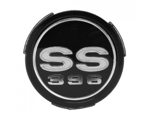 Trim Parts 68 Chevelle Wheel Cover Emblem, SS 396, Each 4590