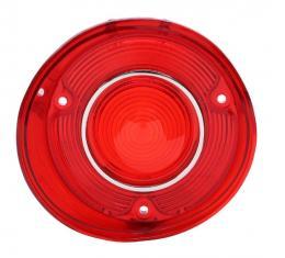 "Trim Parts 72 Malibu & ""SS"" Driver Side Tail Light Lens with Trim, Each A4406"