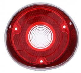 Trim Parts 71 Chevelle Driver Side Back Up Light Lens without Trim, Each A4420