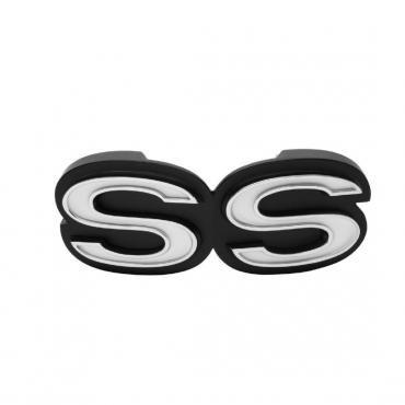 Trim Parts 71 Chevelle Grille Emblem, SS, Each 4743