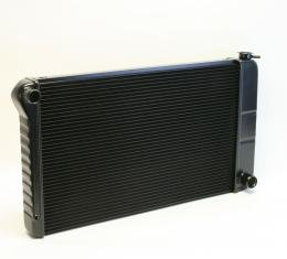 DeWitts 1968-1972 Chevrolet Chevelle Direct Fit Radiator Black, Manual 32-1249003M