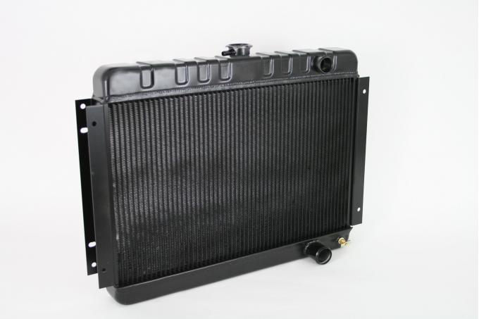 DeWitts 1964-1965 Chevrolet Chevelle Direct Fit Radiator Black, Manual 32-1239001M
