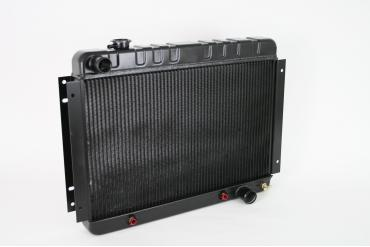 DeWitts 1966-1967 Chevrolet Chevelle Direct Fit Radiator Black, Automatic 32-1249002A