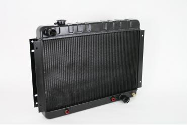 DeWitts 1966-1967 Chevrolet Chevelle Direct Fit Radiator Black, Automatic 32-1239002A