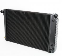DeWitts 1973 Chevrolet Chevelle Direct Fit Radiator Black, Automatic 32-1239034A