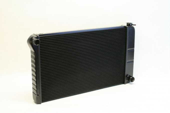 DeWitts 1968-1972 Chevrolet Chevelle Direct Fit Radiator Black, Manual 32-1239003M