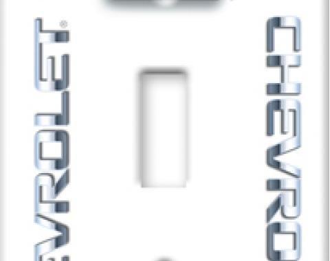 Chevrolet Logo Switchplate