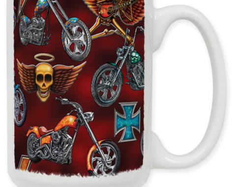 Choppers & Skulls Coffee Mug