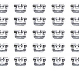 Precision Metal Stamped Molding Clip, 25 Piece Package 10631/25