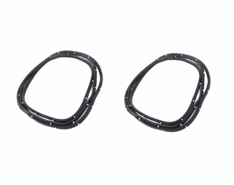 Precision Chevrolet El Camino 1959-1960  Door Weatherstrip Seal Kit, Left and Right Hand, 2 Piece Kit DWP 1210 59
