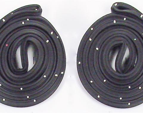Precision Chevrolet El Camino 1968-1972  Door Weatherstrip Seal Kit, Left and Right Hand, 2 Piece Kit DWP 1211 68