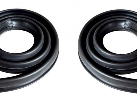 Precision 2 Door Hardtop-Roof Rail Weatherstrip Seal, Left and Right Hand, Pair RWP 1411 67