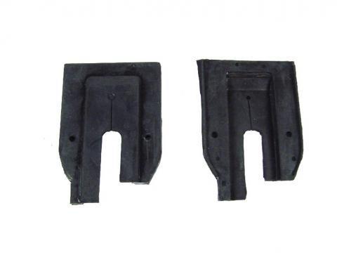 Precision U Jamb Door Lock Pillar Weatherstrip Seals, 2 Piece Kit DLP 1710 64