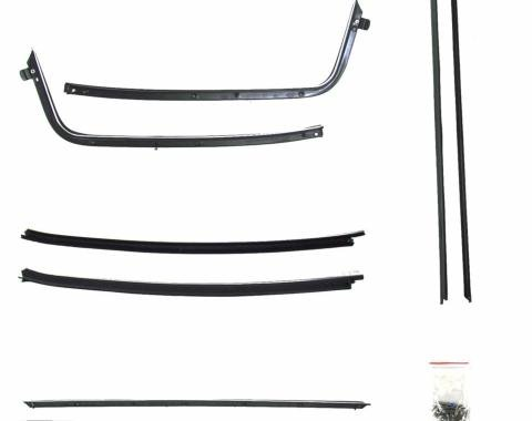 Precision Pontiac GTO 1969-1972  Beltline Molding Kit, Left and Right Hand, 8 Piece Kit WFK 1414 69 A