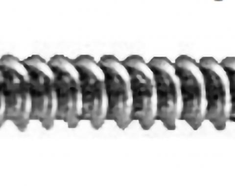 #8 X 1'' (#6 HD) PHILLIPS OVAL HEAD TS - CHROME Machine Screw