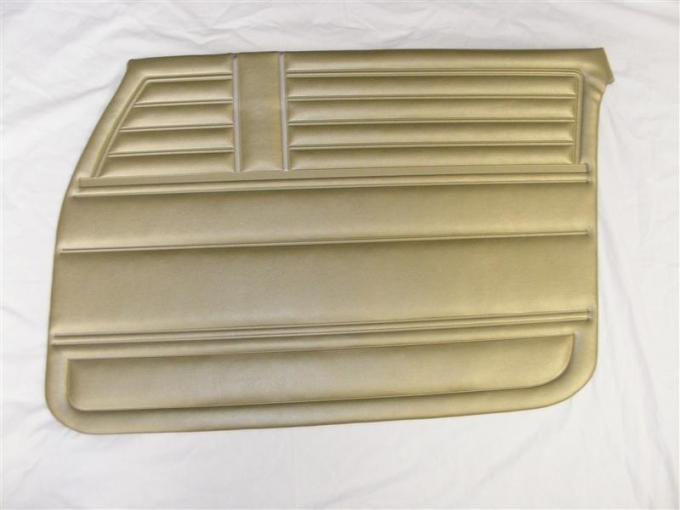 PUI 1968 Chevrolet Chevelle Front Door Panels, 4 Door Sedan/Wagon 68AD4D