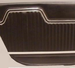 PUI 1970-1972 Chevrolet Chevelle Rear Door Panels, 4 Door Wagon 70AD4DW