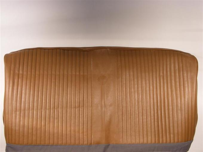 PUI 1969 Chevrolet Chevelle Straight Bench Front Seat Covers, 4 Door Sedan/Wagon 69AS4DB