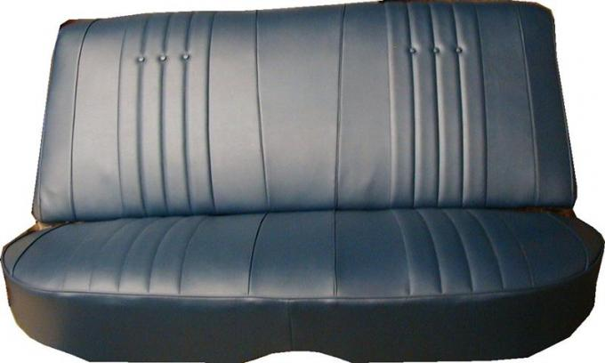 PUI 1968 Chevrolet Chevelle Rear Seat Covers, 4 Door Wagon 68AS4DW