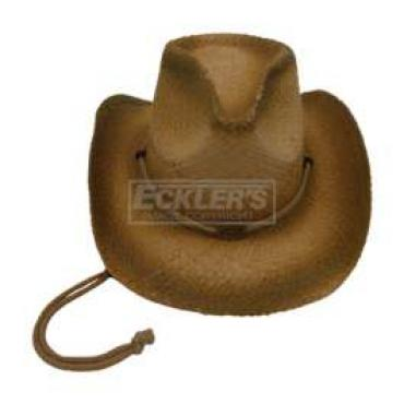 Chevy Cowboy Hat, With Chevrolet Embossed Logo
