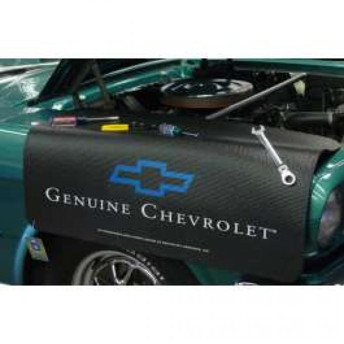 Fender Gripper® Cover, Black With Genuine Chevrolet Logo