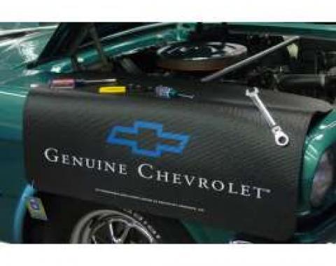 Fender Gripper® Cover, Black With Genuine Chevrolet Logo