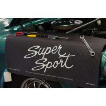 Fender Gripper® Cover, Black With Super Sport Logo