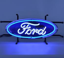Neonetics Junior Size Neon Signs, Ford Oval Junior Neon Sign