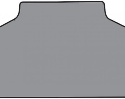 Buick Special Trunk Mat in Carpet with Pad Loop, Black, 1964-1967
