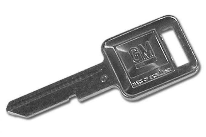 Corvette Key Blank, Square C (72,76,80),