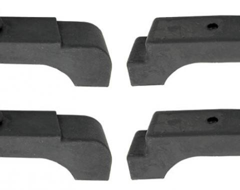 Chevelle Radiator Core Support Cushion Set, 1968-1972