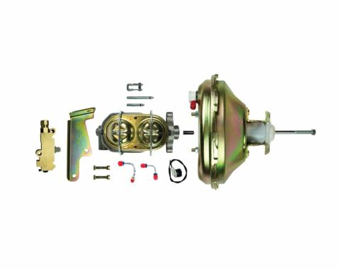 """Right Stuff Upper with Gold Booster, 1"""" Bore, Valve and Lines G10030572"""
