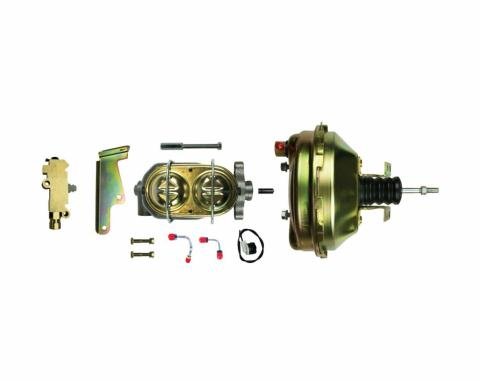 "Right Stuff Upper Assembly with Gold Booster, 1.125"" Bore, Valve, Lines and Brackets G91210971"