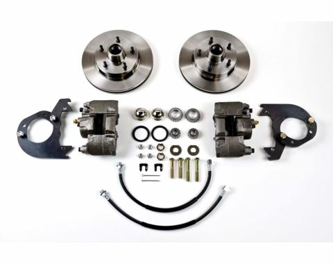 Right Stuff EZ Fit Power Front Disc Brake Conversion Kit with Standard Rotors for 58-64 Chevy cars. FSC5814P