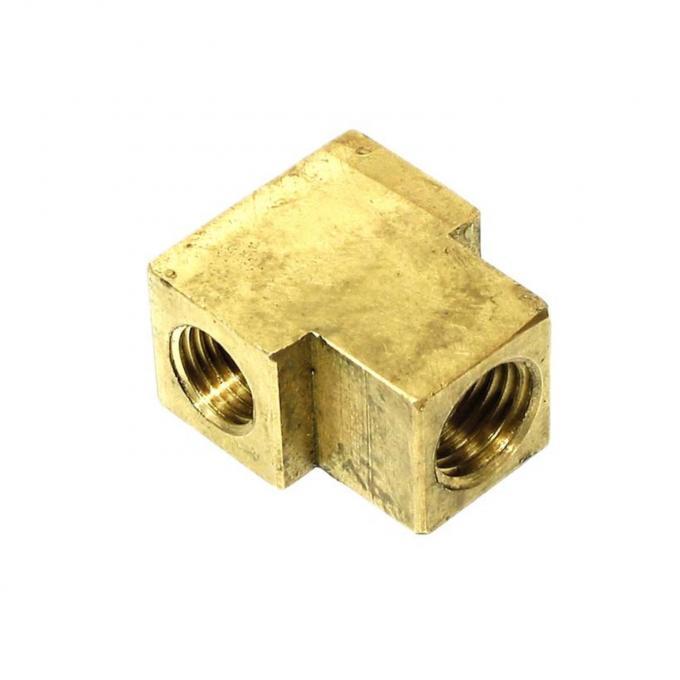 Right Stuff A/F Body Rear Hose Brass T Block RSBB01
