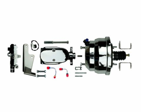 "Right Stuff Upper Assembly with Chrome Booster, 1.125"" Bore, Valve and Lines J81315171"