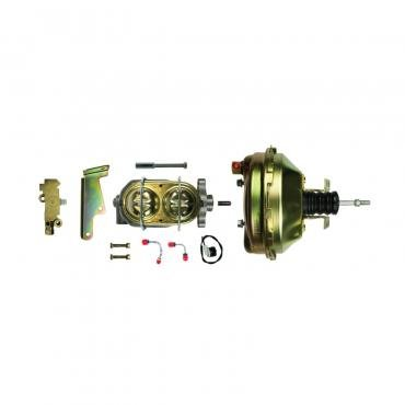 """Right Stuff Upper Assembly with Gold Booster, 1"""" Bore, Valve, and Brackets G91210572"""