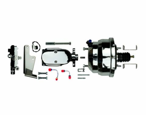 """Right Stuff Upper Assembly with Chrome Booster, 1"""" Bore,Valve and Lines J84315672"""