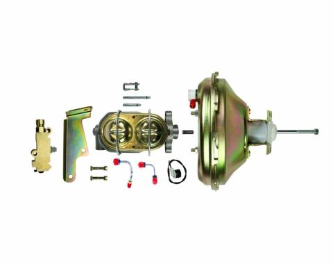 """Right Stuff Upper Assembly with Gold Booster, 1.125"""" Bore, Valve and Lines G10030971"""