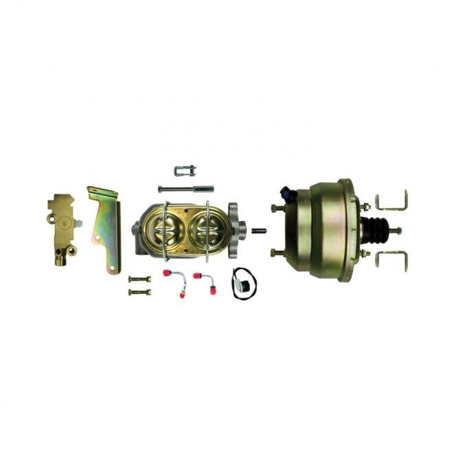 """Right Stuff Upper Assembly with Gold Booster, 1"""" Bore, Valve, Lines and Brackets G81310572"""
